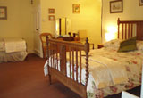 A bedroom at the Duke of York, Iddesleigh